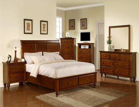 Elements Elements cameron bedroom set