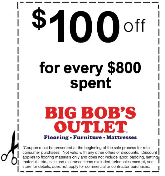 Bob discount furniture coupons
